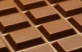 Texture of chocolate bar — Stock Photo