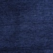 Texture of blue jeans as a background. — Stock Photo