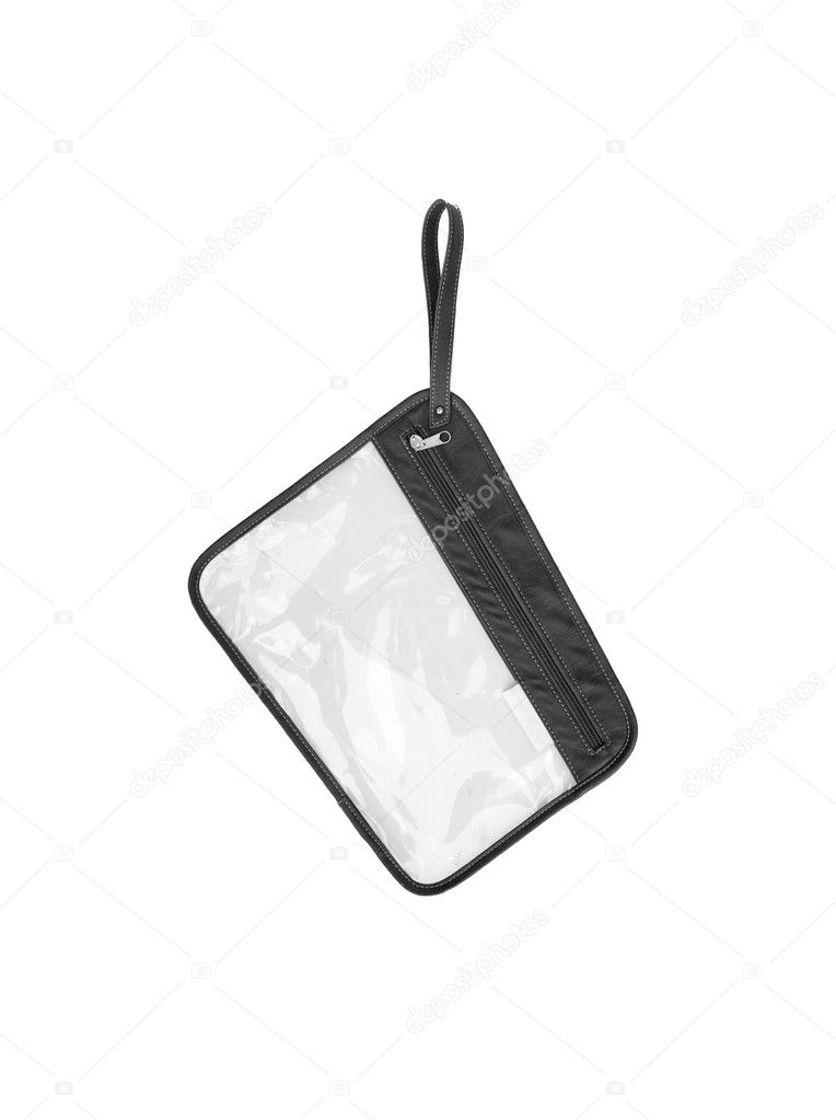 Small handy bag isolated on white background — Stock Photo #6407285