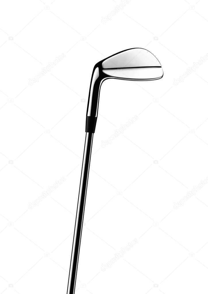 Golf club isolated on a white background — Stock Photo #6407986