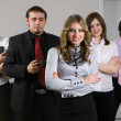Young business team — Stock Photo #5481905