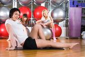 Dziewczyny fitness — Zdjęcie stockowe