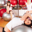 Girl in fitness center — Stock Photo #5586567