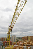 建筑起重机 — 图库照片
