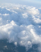 View at clouds — Stock Photo