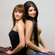 Two beautiful women posing together — Stock Photo #5690001