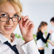 Young business ladies — Stock Photo #5865278