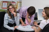 молодой бизнес-команда — Стоковое фото