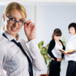 Young business ladies - Stockfoto