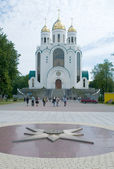 Cathedral orthodox church in Kaliningrad — Stock Photo