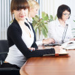 Meeting of young business ladies - Stockfoto