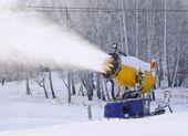 Lavoro snowgun — Foto Stock
