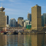 Vancouver Kanada stadsbild — Stockfoto