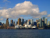 Vancouver Canada cityscape — Stock Photo
