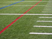 Amerikaanse voetbalveld — Stockfoto