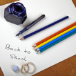 Back to school - old style — Stock Photo #5400112