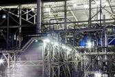 промышленные ночь — Стоковое фото