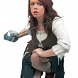 Royalty-Free Stock Photo: Female pirate