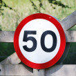 Speed limit — Stock Photo #6035498