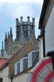Szczegóły katedry ely — Zdjęcie stockowe