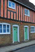 English town cottages — Stock Photo