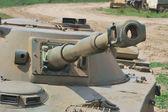戦車砲塔 — ストック写真