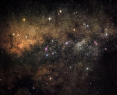 Heart of the galaxy — Stockfoto