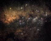 Heart of the galaxy — Stock Photo