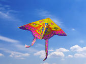 Kite in the sky — Fotografia Stock