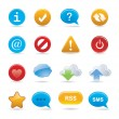 Royalty-Free Stock Vector Image: Buttons and signs
