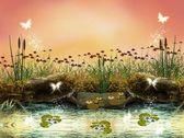 魅惑の自然シリーズ - 魅惑の川 — ストック写真