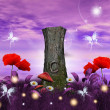 Enchanted nature series - enchanted meadow — Stok Fotoğraf #6298502