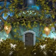 Enchanted nature series - Dwarf house — Foto de Stock