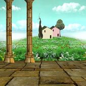 Enchanted meadow — Stock Photo