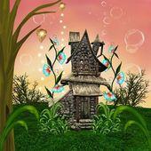 Fairy tale house — Stock Photo