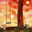 Enchanted swing -  