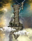 Fantasy tower — Stock Photo