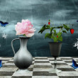 Foto Stock: Enchanted still life