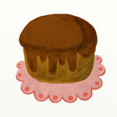 Pudding — Stockfoto