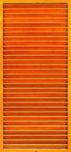 Vintage orange trä fönster — Stockfoto