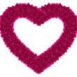 Pink love heart — Stock Photo