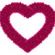 Stock Photo: Pink love heart