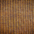 Black rattan wood texture - Foto Stock