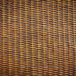 Black rattan wood texture — Stock Photo