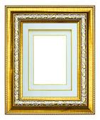 Molduras para fotos de madeira imagem isolada — Foto Stock