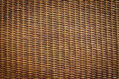 Black rattan wood texture — Stock Photo