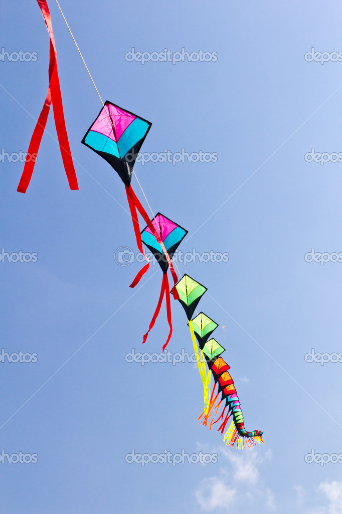 Colorful of kite — Stock Photo #6174210