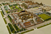 Model of Grand palace in bird eyes view — Stock Photo