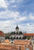 在曼谷市的美丽金属城堡 — 图库照片
