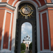 Stock Photo: Russia, Voskresensky Monastery David deserts. Gates.